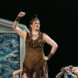 Tiger Lily in Peter Pan for WNO Photo by Clive Barda