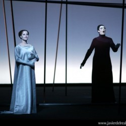 Genevieve in Pelleas with Camilla Tilling in Madrid
