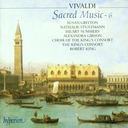 Vivaldi Sacred Music volume 6