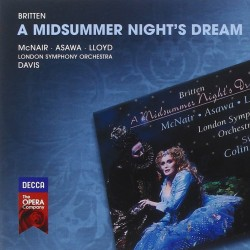 Benjamin Britten A Midsummer Night's Dream