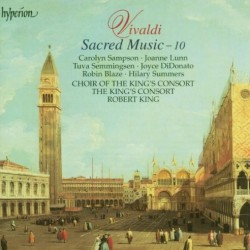 Vivaldi Sacred Music volume 10