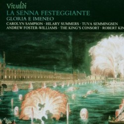 Vivaldi La senna festeggiante with the King's consort